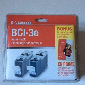 Canon BCI-3e black ink printer